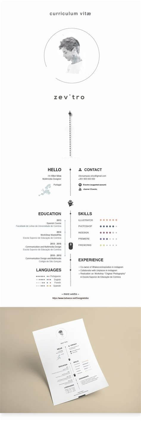 1 Page Resume Template by 43 Modern Resume Templates Guru