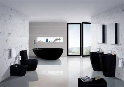 black bathroom fixtures  decor keeping modern bathroom