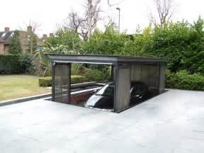 Spectacular House With Underground Garage by Underground Garage Lift Home Projects
