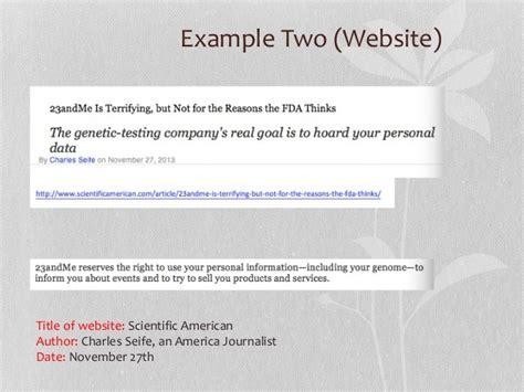 oral citation  genomic sequencing