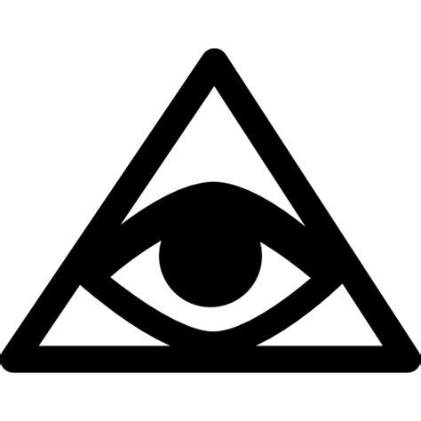Illuminati Triangle Eye Bills Symbol Of An Eye Inside A Triangle Or Pyramid Free