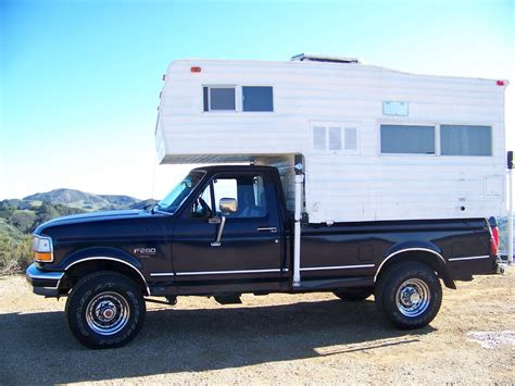 cycled   usa truck camper  sale