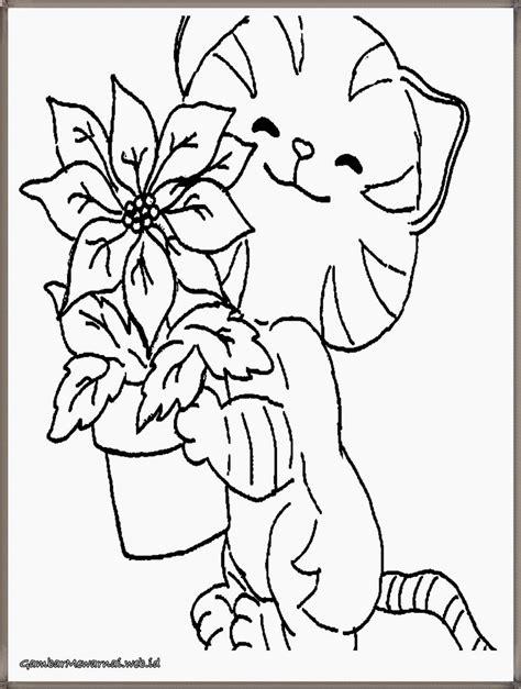 gambar bintang kucing hitam putih untuk diwarnai halaman