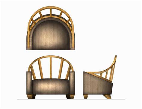 photoshop rendering lounge chair  david gulay