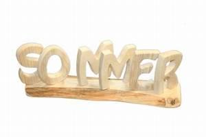 Deko Schriftzug Holz : der schriftzug sommer aus naturbelassenem und gewachstem holz holz dekoideen ~ Eleganceandgraceweddings.com Haus und Dekorationen