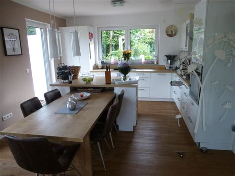 Moderne Küche In Lform Mit Insel Theisküchen