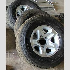 Landcruiser Toyota Alloy Wheels 70 Series (vdj767879v8) Set Of 4 With Tyres Ebay