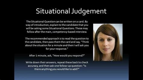 situational judgement tests sjt interview techniques