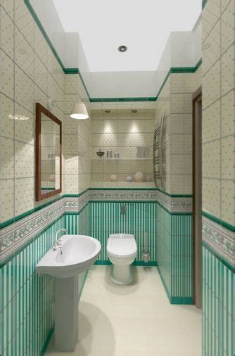 Bathroom in green tile ? FTD Company, San Jose, California