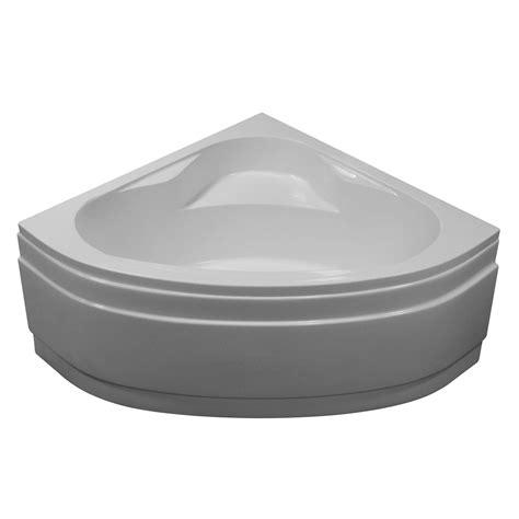 baignoire d angle access sensea acrylique 140x140 cm