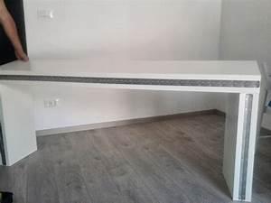 Table De Lit Ikea : console transformable en table ~ Teatrodelosmanantiales.com Idées de Décoration