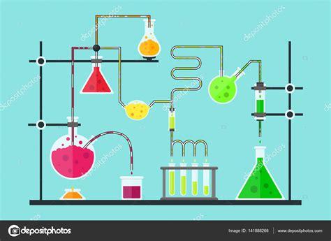laboratorio test chemical laboratory vector stock vector