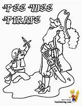 Pirate Coloring Pages Pee Wee Print Yescoloring Scurvy Costume Boys sketch template