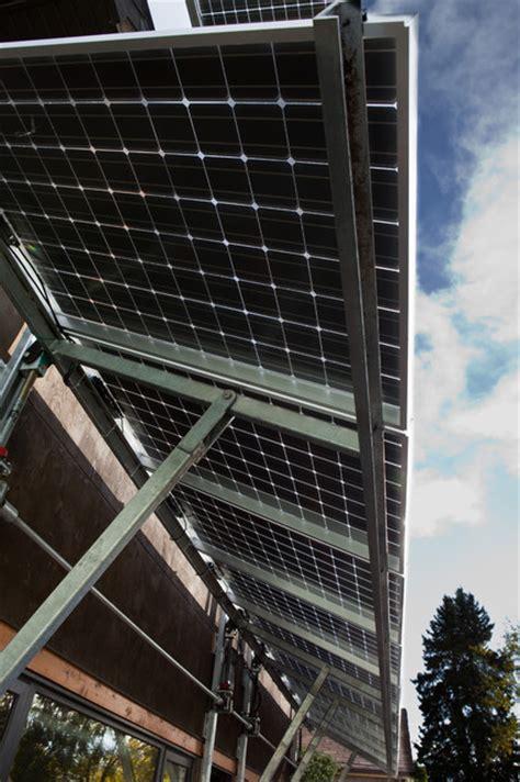 solar panel awning contemporary exterior edmonton