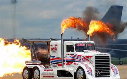Truck Tractor Semi Drag Racing Custom Jet