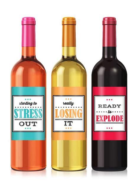 cheer  wine label set personalized wine label custom