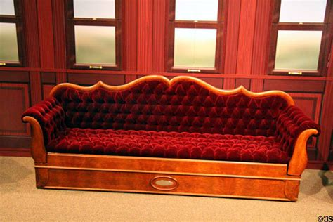 Union Settee by Settee From Abraham Lincoln S Rail Car At Union Pacific