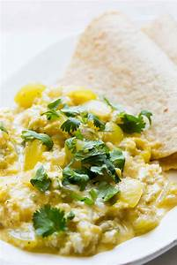 Tomatillo Scrambled Eggs Recipe | SimplyRecipes.com