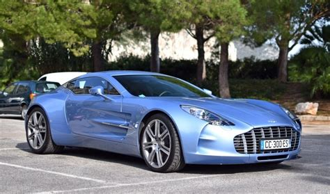 Martin Blue by Mako Blue Aston Martin One 77 Sighted In