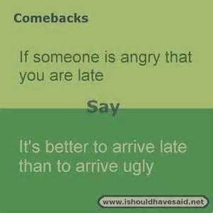 Good Comebacks When Someone You Roasts
