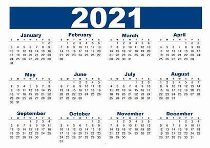 Calendar 2021 Printable Usa