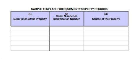 sample rental inventory template   excel