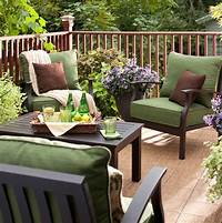 deck furniture ideas Creative Ideas-Cozy Patio