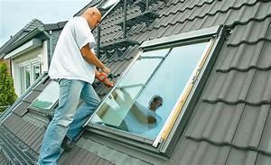 Velux Rollladen Nachrüsten : dachfenster mit integriertem balkon die neueste ~ Michelbontemps.com Haus und Dekorationen
