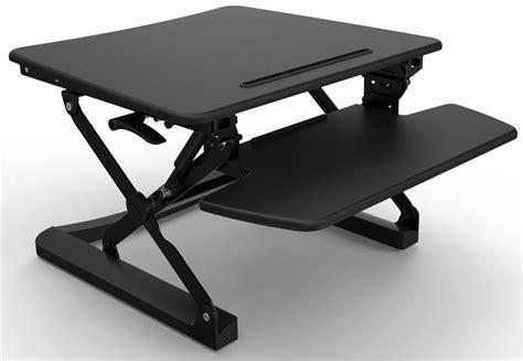 adjustable desk riser rapid riser black height adjustable sit stand desk