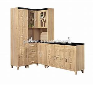 Cheap price mdf kitchen furniture for small kitchen 319 for Kitchen furniture with price