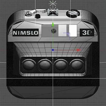 3d Camera Nimslo Icon Behance Ios