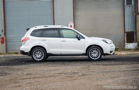 subaru forester white 2016 subaru forester ts sti review video performancedrive