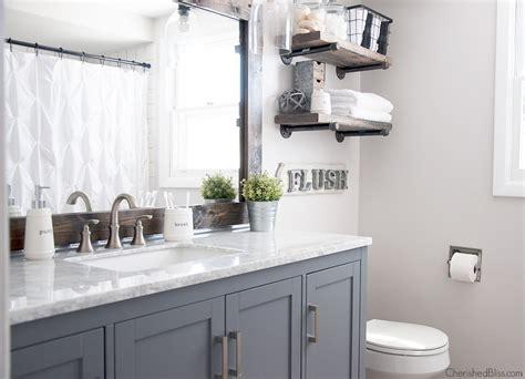 Bathroom Mirror Styles by Diy Farmhouse Bathroom Mirror Tutorial