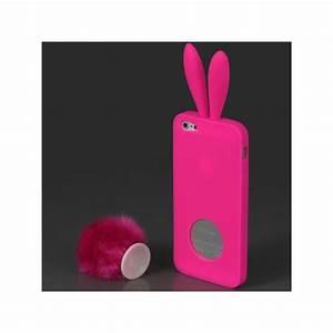 Coque Iphone 5 : coque lapin pour iphone 5 5s et se coques ~ Teatrodelosmanantiales.com Idées de Décoration