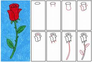 How To Draw Roses   Free Download Clip Art   Free Clip Art ...