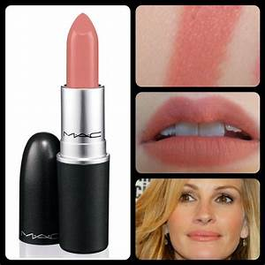 Kinda Sexy lipstick [MAC] Without a base is dry, but the ...