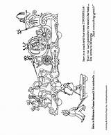 Coloring Parade Float Sheets Floats Sheet Cinderella Children Honkingdonkey Macy Meaning sketch template