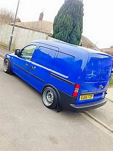 Vauxhall Combo On Banded Steels
