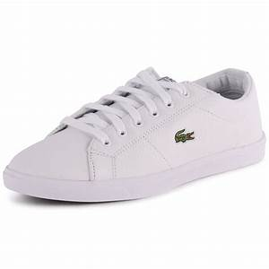 Lacoste Marcel Cup Csd Womens Leather White White Trainers ...