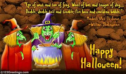 Trouble Double Toil Halloween Quotes Funny Sayings