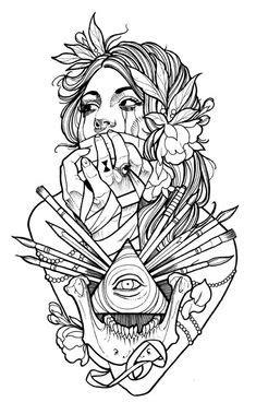 Sugar Skulls - W.I.P. by ~JessicaCanvas on deviantART