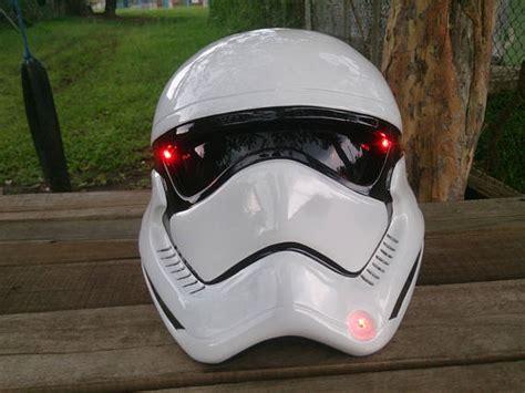Benutzerdefinierte Star Wars Echtes Motorrad Helm Stormtrooper