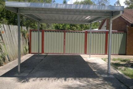 GABLE ROOF CARPORTS COLORBOND CARPORT DOUBLE CARPORT