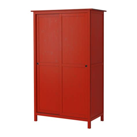 Armoires Coulissantes Ikea by Hemnes Wardrobe With 2 Sliding Doors Red Ikea