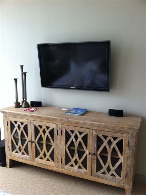 Tv Sideboard Cabinets by I Like The Look Of The Longer Cabinet Beneath The Wall