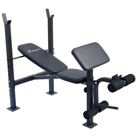 New Deluxe Incline Workout Bench Preacher Curls Weight Leg