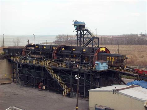 Rotary Coal Car Dumper by Great Lakes And Seaway Shipping News Images