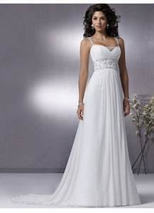 White simple wedding dresses for Simple white wedding dress