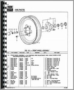 Ford 8000 Tractor Parts Manual