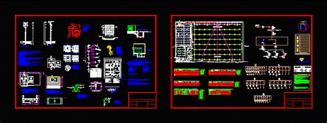 laundry project electrical dwg full project  autocad